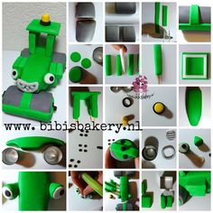 Roley. He is one of Bob the builder's friends. Here is the pictorial how you can make him yourself.