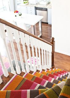 Runner for cottage stairs