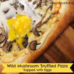 Wild-Mushroom Pizza | Recipe | Pizza Recipes, Pizza and Mushrooms