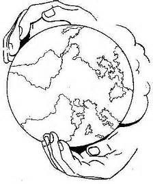 Coloring Pages God Has The Whole World In His Hands Picture