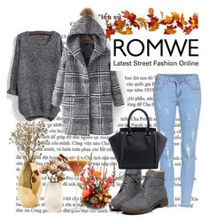 """Romwe contest"" by merima-gutic ❤ liked on Polyvore featuring Nate Berkus, women's clothing, women, female, woman, misses and juniors"