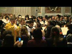 Tomomi Nishimoto, conductor. Vatican2013ミサ第九 - YouTube. Brilliant. ( ✨Д✨)