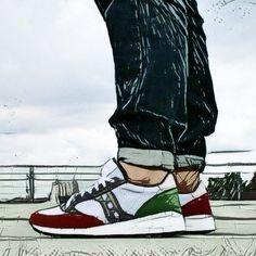 Saucony Jazz 91 Color-Blocking #SauconyOriginals #sneaker #shoes #shoe #sneakerlove #womft #oldschool #style #swag #closerlook #art #minimalism #kickz #minimalspieltrieb