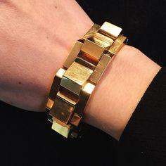 Mid-20th century gold retro bracelet by Boucheron, Paris, c.1940  #SJPhillips…