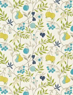 Joelle (Print) fabric from Harlequin