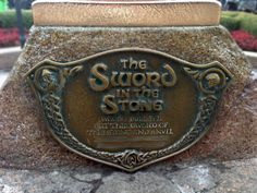 Finish That Disney Parks Sign: The Sword in the Stone at Disneyland Park