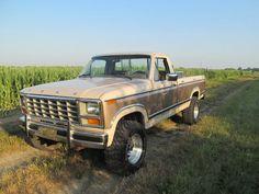 Single Cab Trucks, Muscle Truck, Black Truck, F150 Truck, Old Pickup Trucks, Classic Trucks, Classic Cars, Ford Bronco, Ford Ranger