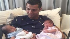 Cristiano Ronaldo was given an early leave pass from the Portugal team, which is due to play in the 3/ 4 play-off v Mexico in the Confederations Cup, to be with his twin children born earlier this month to a surrogate mum. Portuguese reports suggest their names are Mateo and Eva but that is not confirmed. 30.06.17