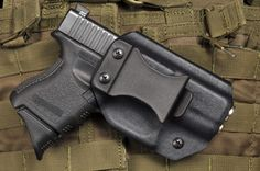 Made of high quality, durable Kydex. Detroit Kydex has made holsters for LEOs, military, concealed handgun citizens. Concealed Carry Holsters, Kydex Holster, Glock 42, Conceal Carry, Personal Defense, Firearms, Hand Guns, Shops, Magazine