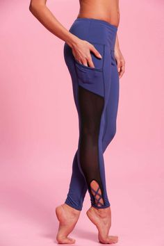 Every girl grows up dreaming of becoming a ballerina one day, but for those of us who chose a slightly different path to run the world, you can still play dress up in these encore worthy Pointe Leggin