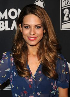 Lyndsy Fonseca. Her hair! I like that lip color.