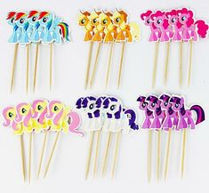 Cheap party decorations budget, Buy Quality party decoration prices directly from China party decorations disco Suppliers: My little pony Cupcake Topper Picks,birthday/wedding party decorations,kids evnent party favors,Party decoration Cupcakes My Little Pony, My Little Pony Cumpleaños, Fiesta Little Pony, Cumple My Little Pony, Little Poney, Wedding Cupcake Toppers, Cupcake Party, Kids Party Decorations, Kid Party Favors