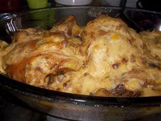 BRAZILIAN FOOD: Boneless Stuffed Chicken