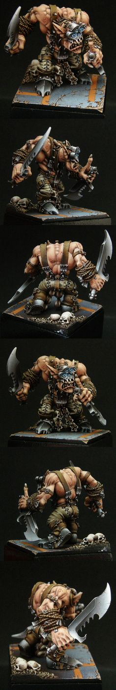 BOSS SNIKROT  Manufacturer: Games Workshop  by Artur