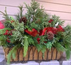 Faire+une+jardinière+de+Noël                                                                                                                                                                                 Plus