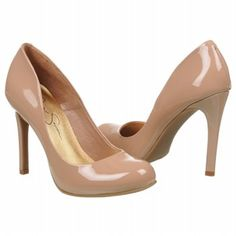 Just bought these Jessica Simpson shoes, pretty comfy and great for any dress you simply can not wear black heels with.