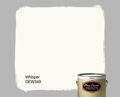 Dunn-Edwards Paints paint color: Whisper DEW340