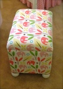 DIY footstool