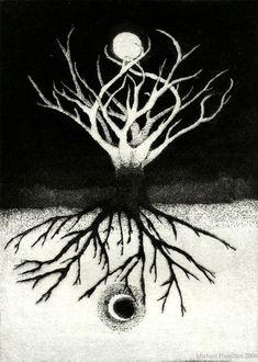 As above So below (Lakota Mystery Tree by Michael Hamilton)