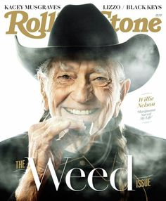 """Willie Nelson Says Marijuana """"Saved My Life"""" In 2019 Rolling Stone Interview The Rolling Stones, Willie Nelson, Rolling Stone Magazine Subscription, Weed, Spin, Rolling Stone Magazine Cover, Overlays, Las Vegas, Kacey Musgraves"""