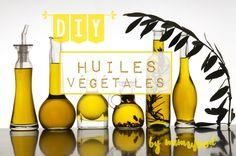 DIY Cooking   Cuisine   Recettes   Mes huiles aromatiques   ➵ Huile aux câpres ➵ Huile à l'estragon ➵ Huile piquante ➵ Huile à la truffe