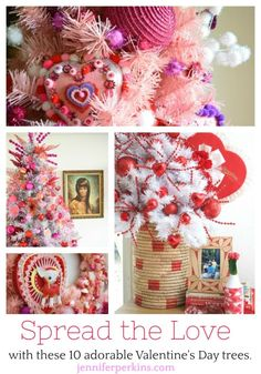 Spread the Love With One of These 10 Inspiring Valentine's Day Trees