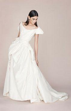 Bird of Paradise Dress in silk paper taffeta Vivienne Westwood Bridal