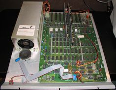 The guts of my Franklyn Ace Apple clone that got me through college. I ran CPM and Turbo Pascal on this thing to right math and AI programs. Old Computers, Information Technology, Software, College, Apple, Electronics, Math, History, Vintage