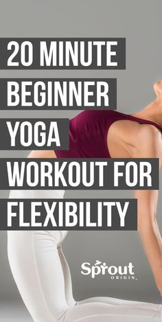 fitness Yoga workout for flexibility! The best beginner yoga poses to help you improve flexibility, relieve aches, back pain, & have you feeling like a new you! Pilates Workout, Beginner Yoga Workout, Pilates Reformer, Workout For Beginners, Pilates Yoga, Yoga Workouts, Yoga Poses For Back, Yoga For Back Pain, Yoga Fitness