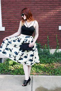 Mod Circus: Black Swan Style