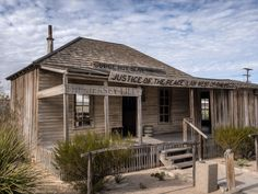 The Jersey Lilly Saloon and Courtroom, home of Judge Roy Bean, Law West of the Pecos-SR