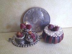 Dollhouse Miniature Half Scale jewelry box by CSpykersMiniatures, $11.99