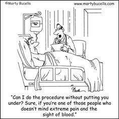 Medical Explanation. Marty Bucella.