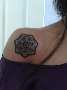 Lotus tattoo- The lotus flower is a timeless symbol of beauty, strength and wisdom. Like the flower, which must rise from mud before blossoming, we too can learn to trust the unseen path that leads to sunlight.