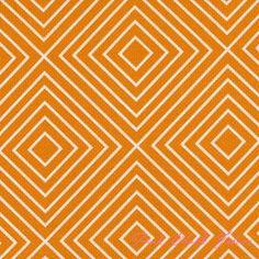 Patty Young Textured Basics Diamonds Tangerine