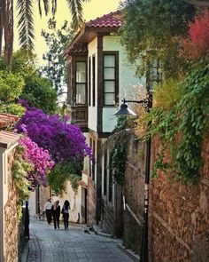 Translated version of test.txtThe most authentic place of Antalya is Kaleiçi. We live in Antalya . Italy Street, Old Street, Antalya, Travel Around The World, Around The Worlds, Turkish Architecture, Turkey Photos, Istanbul Travel, City Streets