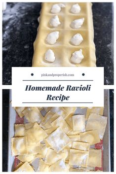 Are you looking to take your pasta game to the next level? Check out my homemade. - Are you looking to take your pasta game to the next level? Check out my homemade ravioli recipe tha - Pasta Recipes, Cooking Recipes, Rice Recipes, Vegetarian Recipes, Healthy Recipes, Italian Recipes, Italian Dinners, Pasta Dishes, The Best