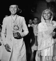 Mother of the Nation, Fatima Jinnah with her brother the founder of Pakistan, Muhammad Ali Jinnah