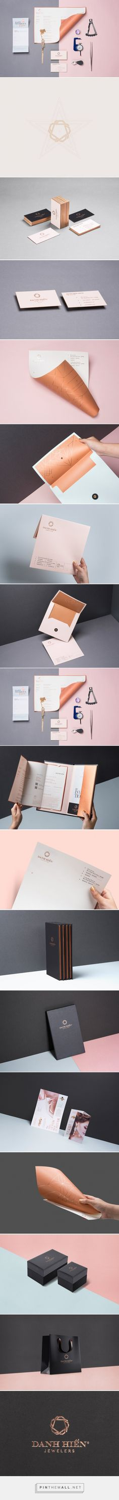 Elegant Branding Design for Danh Hien Jewelers - created via https://pinthemall.net