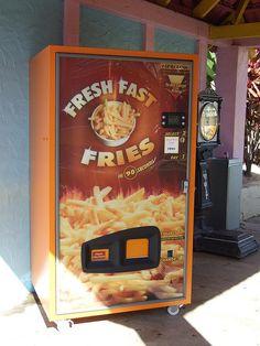Pommes Frites Vending Machine