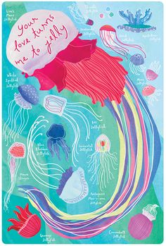 jellyfish valentine