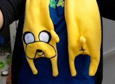 Adventure Time Jake scarf ( make for Jairus xmas)