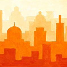 luftperspektive kunstunterricht - Google-Suche Collage Magazine, Arte Elemental, Classe D'art, Monochromatic Art, Motif Art Deco, Lighthouse Art, Perspective Art, Principles Of Art, School Art Projects