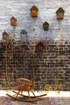 Those bird houses make nice lights industrial vintage interior House Lamp, Bird Boxes, Little Houses, Vintage Industrial, Home Art, Kids Room, Diy Crafts, Lights, Outdoor Decor