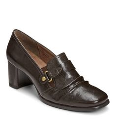 Loving this Brown Peacoat Pump on #zulily! #zulilyfinds