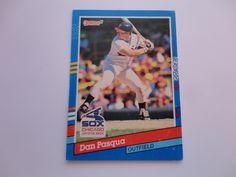 Dan Pasqua Donruss 91 Baseball Card.