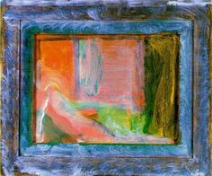 Howard Hodgkin, 'None But the Brave Deserves the Fair', 1981 Abstract Painters, Abstract Art, Magical Paintings, Howard Hodgkin, Turner Prize, Figurative Art, All The Colors, Printmaking, Brave