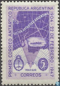 Argentina [ARG] - Antarctica 1904-1947. 1947