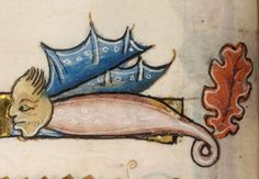 Detail from The Luttrell Psalter, British Library Add MS 42130 (medieval manuscript,1325-1340), f26v
