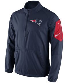 Nike Men s New England Patriots Lockdown Half-Zip Jacket Football Outfits 9b2c5079c